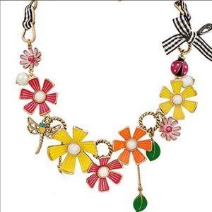 Betsey Johnson Flower Girl 🌺 Statement Necklace